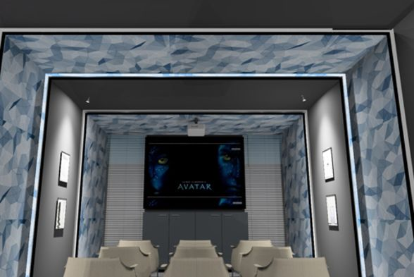 Home Theater Srishti Designs