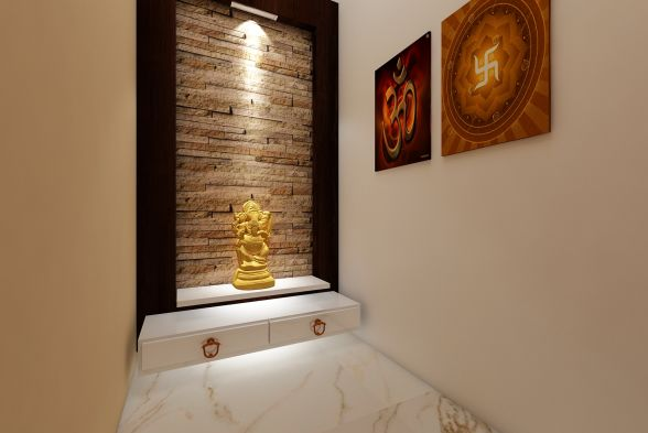 Prayer Room Tanmaya Interiors