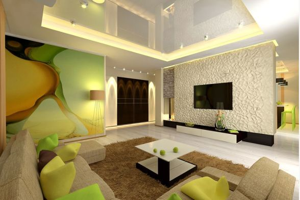 Living Room Vishra Interiors
