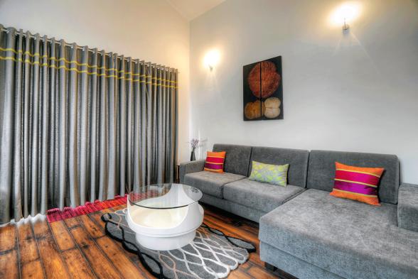 Living Room Vistaar Associates
