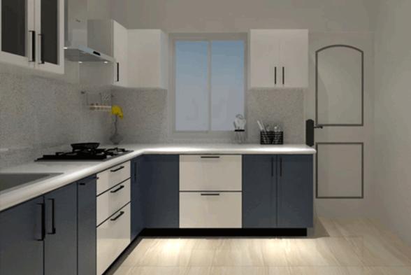 Kitchen Vivid Woods