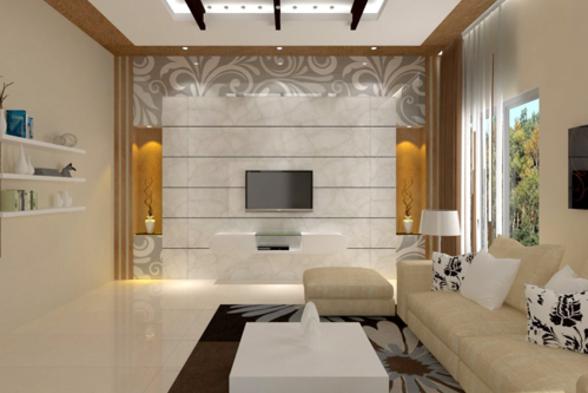 Living Room Vivid Woods