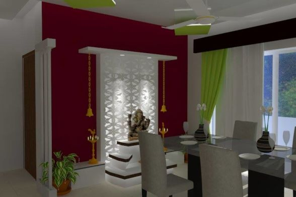 Prayer Room Yuvati Interiors