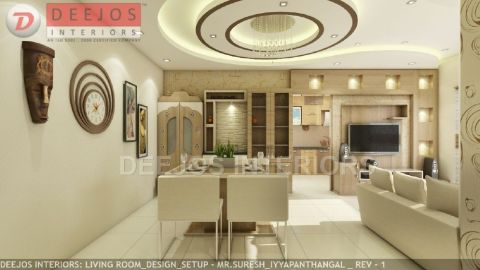 DEEJOS INTERIORS PVT LTD  - Interior designer