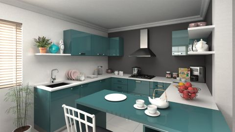Dream Kitchen Interior  - Interior designer