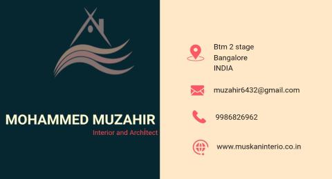 Muskaaan interior hub  - Interior designer