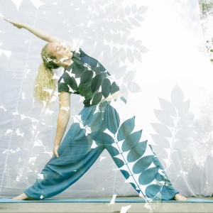 Yin Yoga with Live Singing Plants