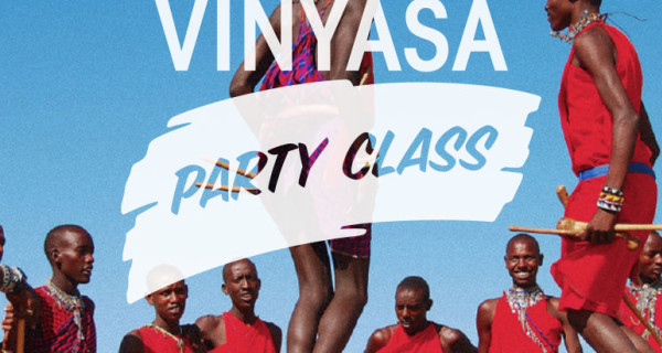 Free Vinyasa Party Class and Teacher Training Info Session