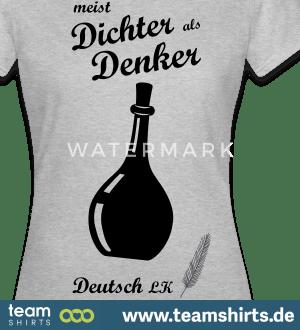 DICHTER ALS DENKER