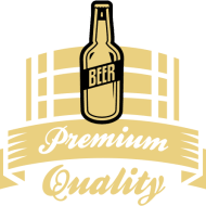 PREMIUM QUALITY BEER KEG LOGO