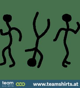 Strichmännchen tanzen