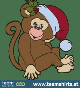 Weihnachtsaffe