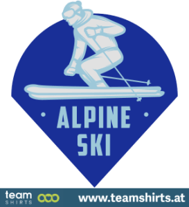 ALPINE SKI EMBLEM