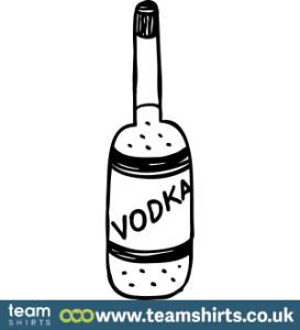 Wodka-Flasche