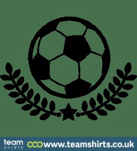 FOOTBALL & WREATH