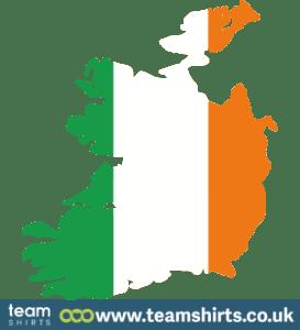 REPUBLIC OF IRELAND SILHOUETTE COLOURED