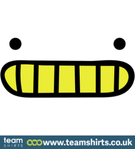 SMILEY WITH TEETH VI COLOUR