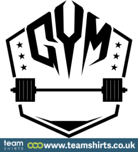 GYM WITH WEIGHTS LOGO