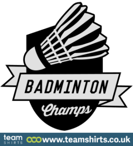 BADMINTON CHAMPS LOGO