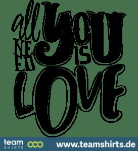 Liebe ist alles was man braucht