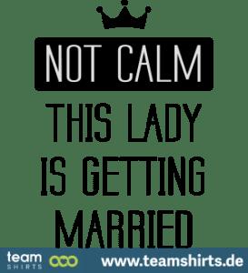 nicht ruhig, heiraten