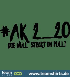 die Null steckt im Pulli AK 2020
