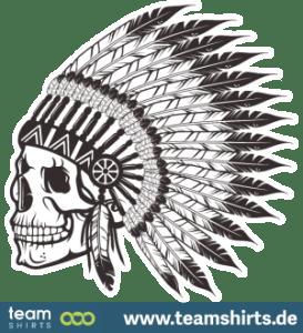 Schädel Stammes-