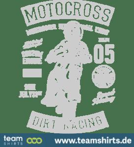 Motocross-Drecksrabe