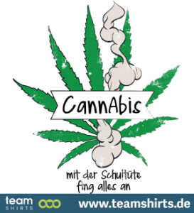 cannabis mit der schultüte fing alles an