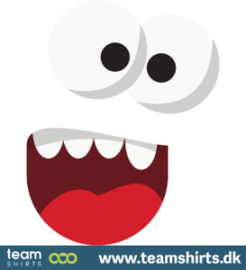 Monster Gesicht