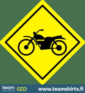 Verkehrszeichen Motorrad Spur