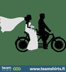 Hochzeitsfahrrad