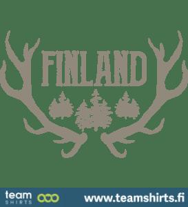 Suomi finland logo poronsarvet