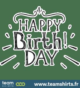 Alles Gute zum Geburtstag Wort Kunst