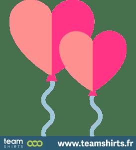 Herz-Ballon