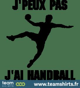 jpeux pas jai handball