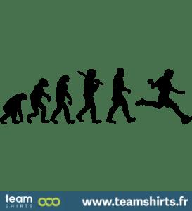 Evolution des Fußballs