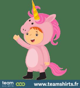 Kind Einhorn
