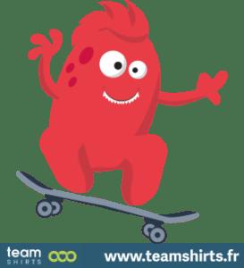 Sport vectorstock 10376269 Monster Skateboarding S