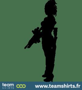 Weiblicher Soldat