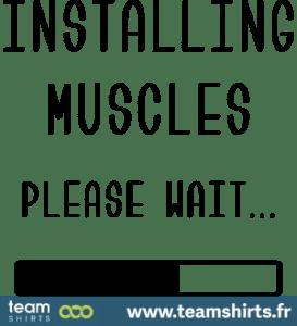 Installiere Muskeln