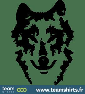 Wolf Porträt