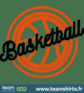 Basketball Schriftzug