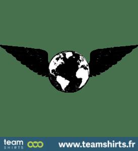 Terre avec des ailes