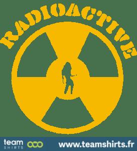 JEUNE FILLE RADIOACTIF