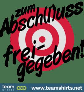 ZUM ABSCHLUSS FREIGEGEBEN