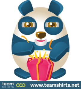 Panda mit Gegenwart