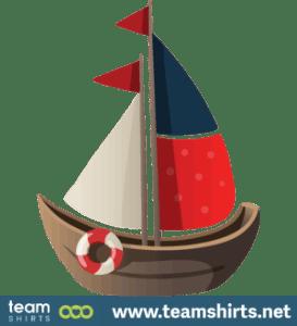 Spielzeugschiff