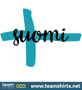 suomi sydän lippu finland