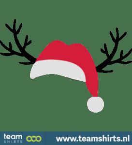 Weihnachtsgeweih Sankt Hut